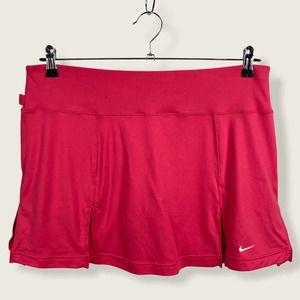 Nike Dri Fit Hot Pink Pleated Tennis Golf Skort